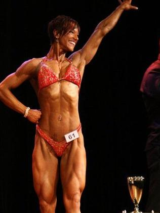 Tracey Guile, pictured after she won a figure category in 2010.