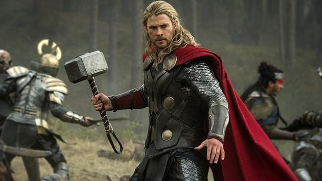 Thor: The Dark World continued its box-office reign with $38.5 million in its second week. Picture: AP Photo/Walt Disney Studios/Marvel, Jay Maidment, File