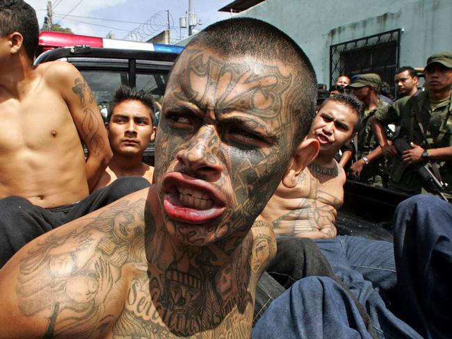 Northern triangle gangs el salvador honduras guatemala refugees coming to australia - Gang gang ...