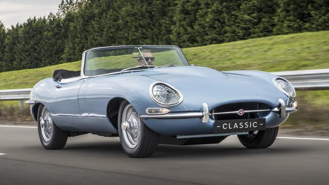 <i>A Jaguar E-Type. Probably one of the few cars in the world that doesn't need a caption but we need to write one any way. Picture: Supplied.</i>