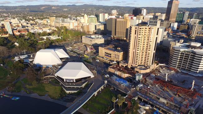 Bill Muirhead has said the whole state should be renamed Adelaide, after the capital city. Picture: Nick Stillwell.