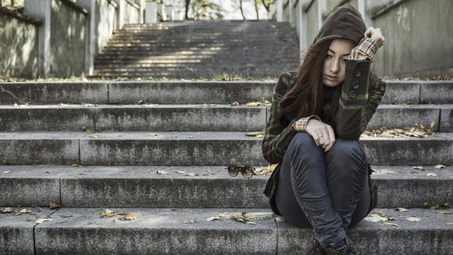 Students are using ineffective tools to combat the mental health problems of their generation. Picture: Getty Images.
