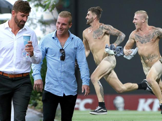 SCG streaker faces fresh new charge