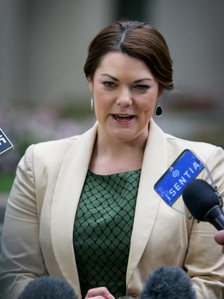 Greens Immigration spokesperson Senator Sarah Hanson-Young.