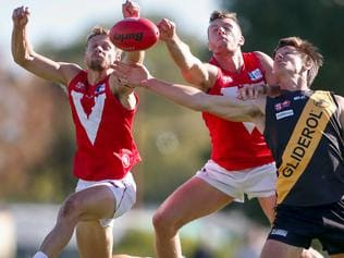 Glenelg v North Adelaide SANFL match at Prospect Oval.