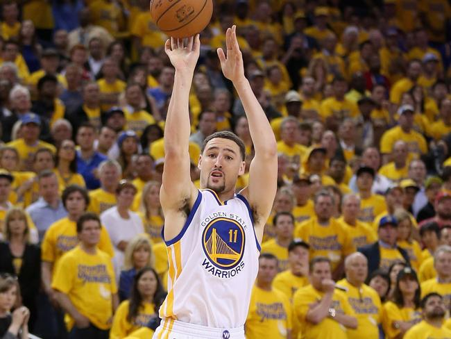 Klay Thompson will want to be reunited with his fellow Splash brother soon.