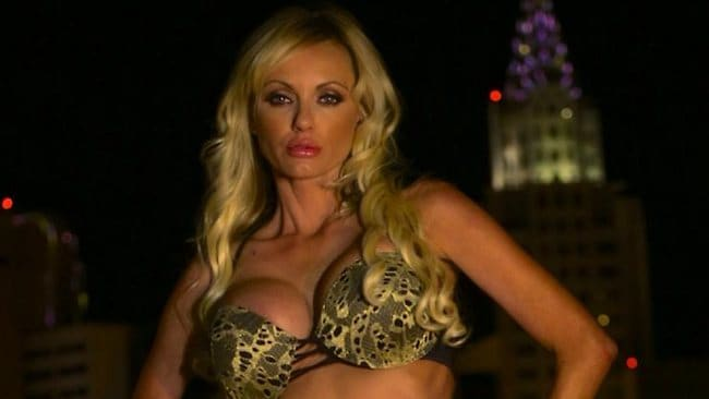 Former Playboy playmate Cassandra Lynn Hensley was found dead in her friend's bathtub in LA on Wednesday. She was 34. Picture: Facebook