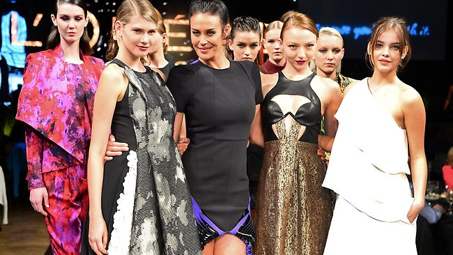 L'Oreal Melbourne Fashion Festival launch at Central Pier, Docklands. Picture: Caird David