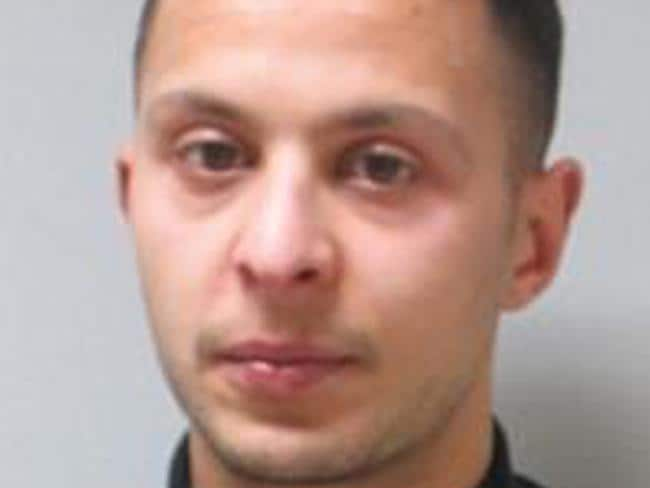 This undated file photo provided by the Belgian Federal Police shows 26-year old Salah Abdeslam. Source: AP