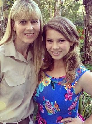 Best mates ... Bindi and her mum Terri Irwin on Mother's Day. Photo: Instagram.