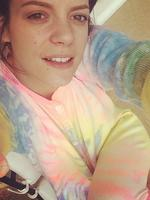 "Rainbow bright ...""Wasn't lying about the onsie"". Picture: Instagram"