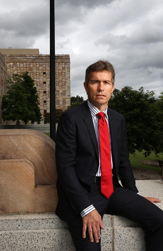 Meet UQ's knight in shining armour