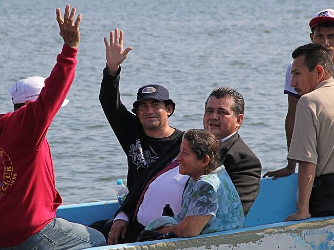 Adrift at sea: Salvadorean castaway Jose Salvador Alvarenga washed up on the Marshall Islands on January 30. Picture: AFP