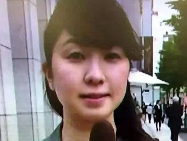 Miwa Sado, a political reporter with the broadcaster NHK, died from heart failure. Picture: ANN News