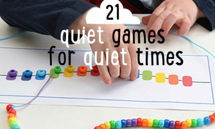 21 absorbing quiet games for quiet times