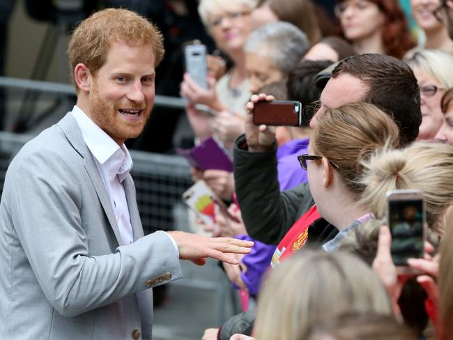 Prince Harry reportedly introduced his girlfriend to his grandmother earlier this month. Picture: AFP/Paul Faith