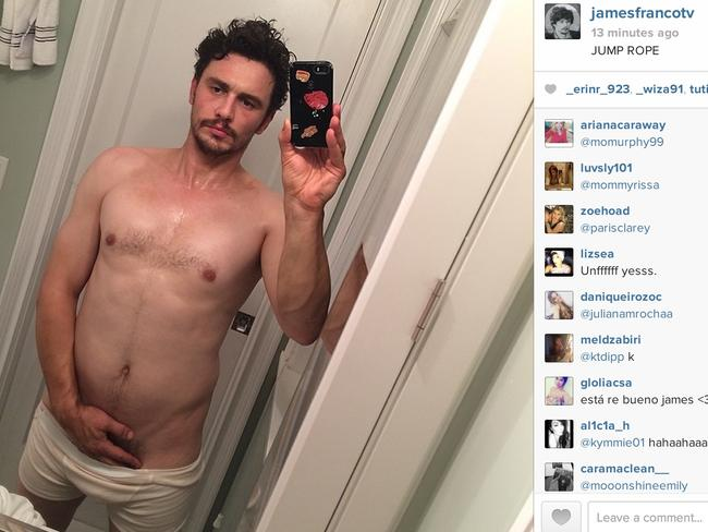 James Franco what you doin gurl.