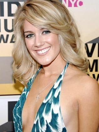 BEFORE: A pre-surgery Heidi Montag in 2010.