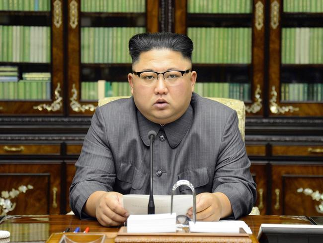 Egypt has denied paying for the North Korean weapons stash. Picture: Korean Central News Agency/Korea News Service via AP
