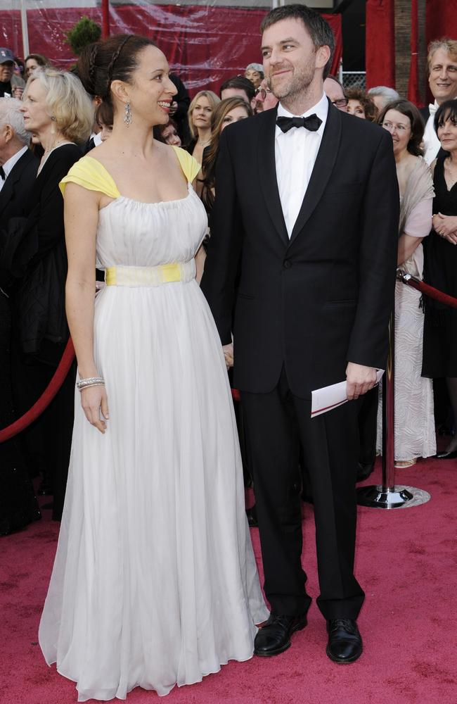 Anderson at the 2008 Oscars with Maya Rudolph. He was nominated that night for Best Director, Picture and Adapted Screenplay for There Will Be Blood. Picture: AP Photo/Kevork Djansezian