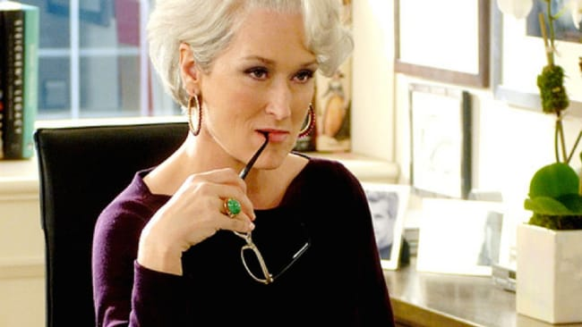 Meryl Streep played the ultimate bad boss in 'The Devil Wears Prada'. Photo: Supplied