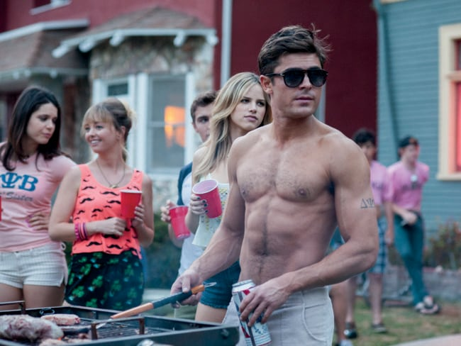 Lets hope they didn't mess up Efron's almost perfect physique.