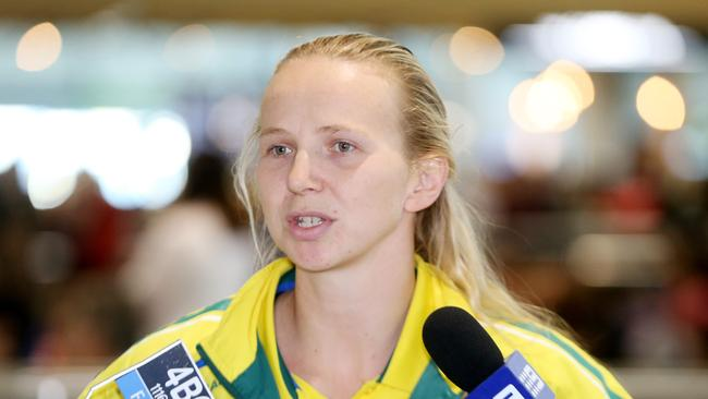 A story on Melanie Schlanger may have ruffled a few feathers at Swimming Australia.