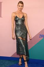 Martha Hunt attends the 2017 CFDA Fashion Awards at Hammerstein Ballroom on June 5, 2017 in New York City. Picture: Dimitrios Kambouris/Getty Images/AFP