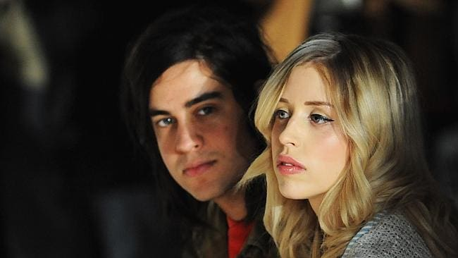 Married ... Peaches Geldof and Thomas Cohen attended the Moschino cheap & chic show during London Fashion Week in February last year. Picture: Getty