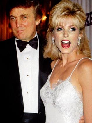 Marla Maples was the second Mrs Trump. Picture: Supplied