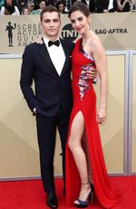 Actors Dave Franco (L) and Alison Brie attend the 24th Annual Screen Actors Guild Awards at The Shrine Auditorium on January 21, 2018 in Los Angeles, California. Picture: Frederick M. Brown/Getty Images