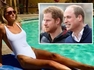 Sophie thinks Harry is better looking than Wills/