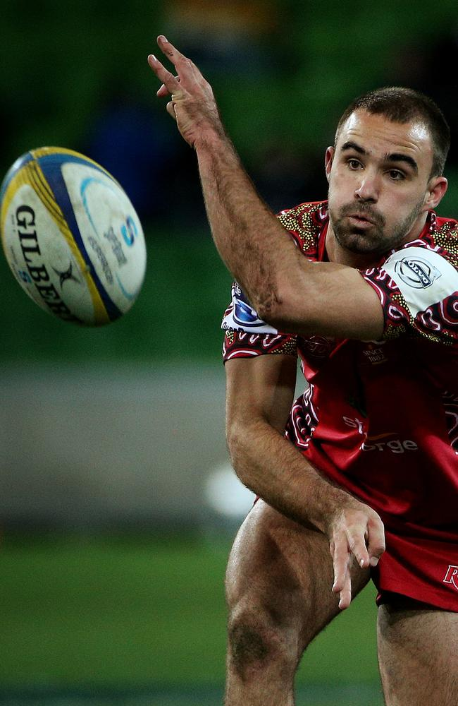 Reds scrumhalf Nick Frisby is on the mend after breaking his jaw against the Western Force in Perth.
