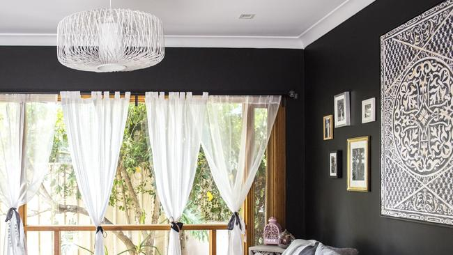 Fiona and nic s satanic design the courier mail for Living room channel 7