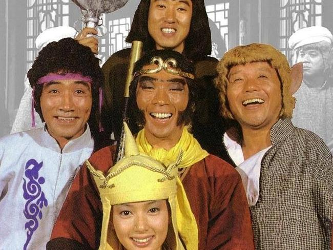 Even if they weren't Chinese, at least the original Monkey Magic cast was Asian.