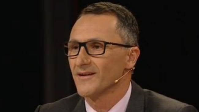 Greens leader Senator Richard Di Natale on Q & A.