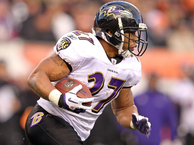 Ray Rice has been a prolific scorer in his career.