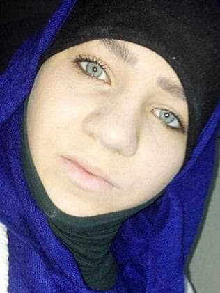After joining IS, Sabina Selimovic now wants to come home. Picture: Supplied