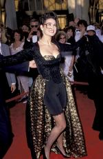 Demi Moore reckons life's just better in Lycra, attending the 1989 Oscars. Picture: Jim Smeal/WireImage