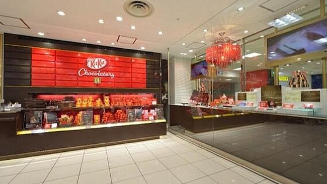 "The KitKat ""Chocolatory"" store stocks isn't your average sweet store. Picture: Twitter/@Nestle"