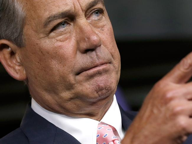 Republican speaker John Boehner said the move is designed to reign in a power-obsessed president. Pic: Win McNamee/Getty Images.