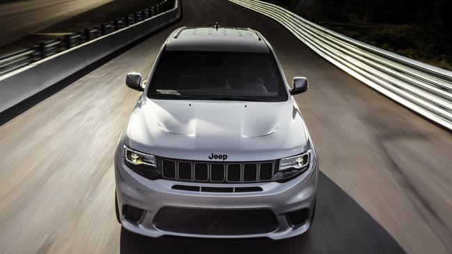 Jeep expects some owners to take their car to a drag strip. Pic: Supplied.