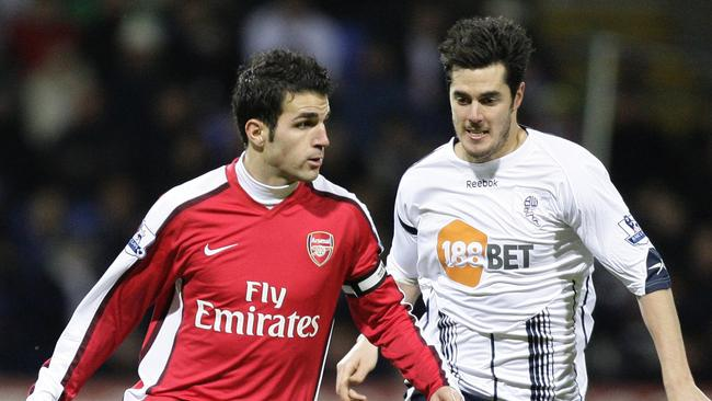Cesc Fabregas in Arsenal kit will remain a distant dream for fans.