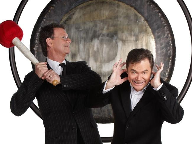 Symons was Red with the gong for a generation of Australian viewers.
