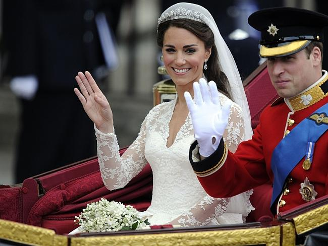 The world was watching ... Britain's Prince William and his wife Catherine, Duchess of Ca
