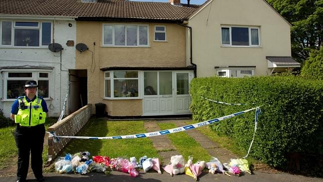 The house where the bodies of Yvone Walsh and her seven-moth-old son were found two days after they were killed. Source: Snap...
