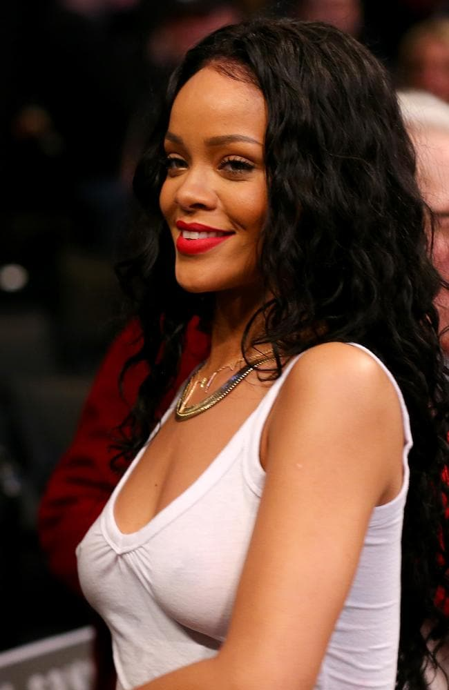 Rihanna is a regular at NBA games.