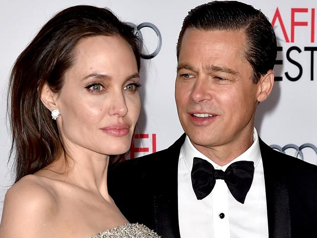 Angelina Jolie and Brad Pitt had a messy split. Picture: AFP/Kevin Winter