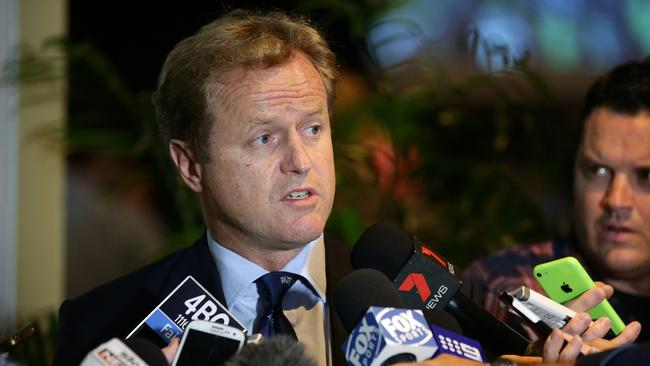NRL CEO Dave Smith is making big changes. Picture: Liam Kidston