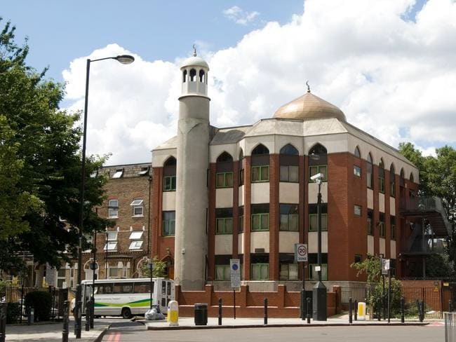 Finsbury Park Mosque, London, England, UK. Picture: Alamy